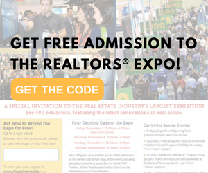 GET free admission to the realtors expo