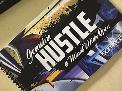 Genuine Hustle Book Cover Raleigh Bamboo Realty